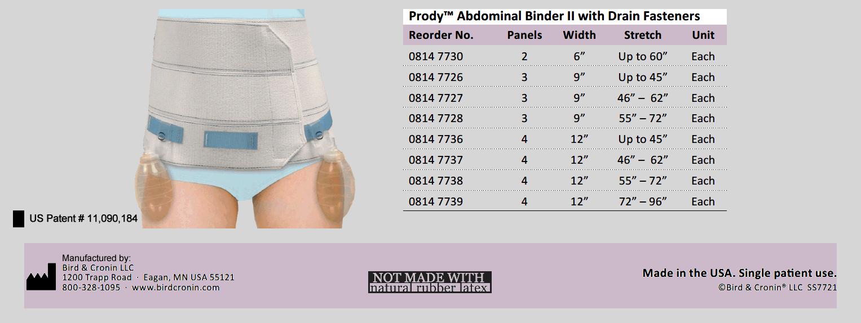 PatentedAbdominal-Binder